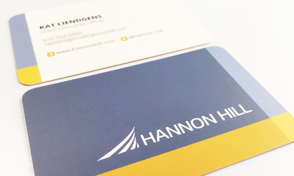 Hannon Hill - Business Card Design