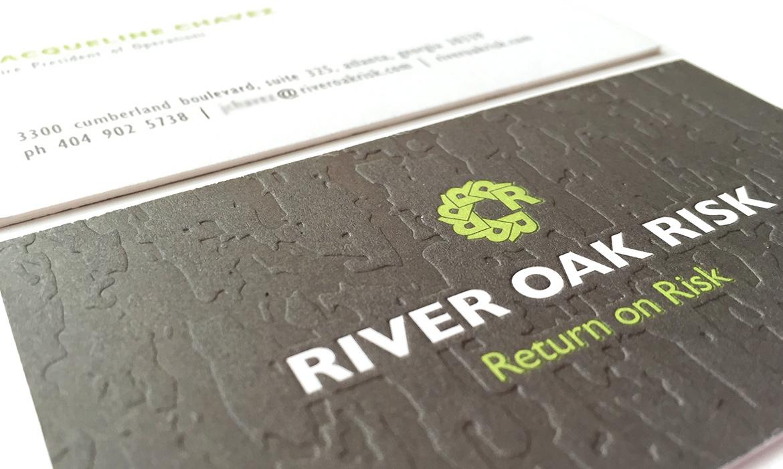 River Oak Risk Business Card