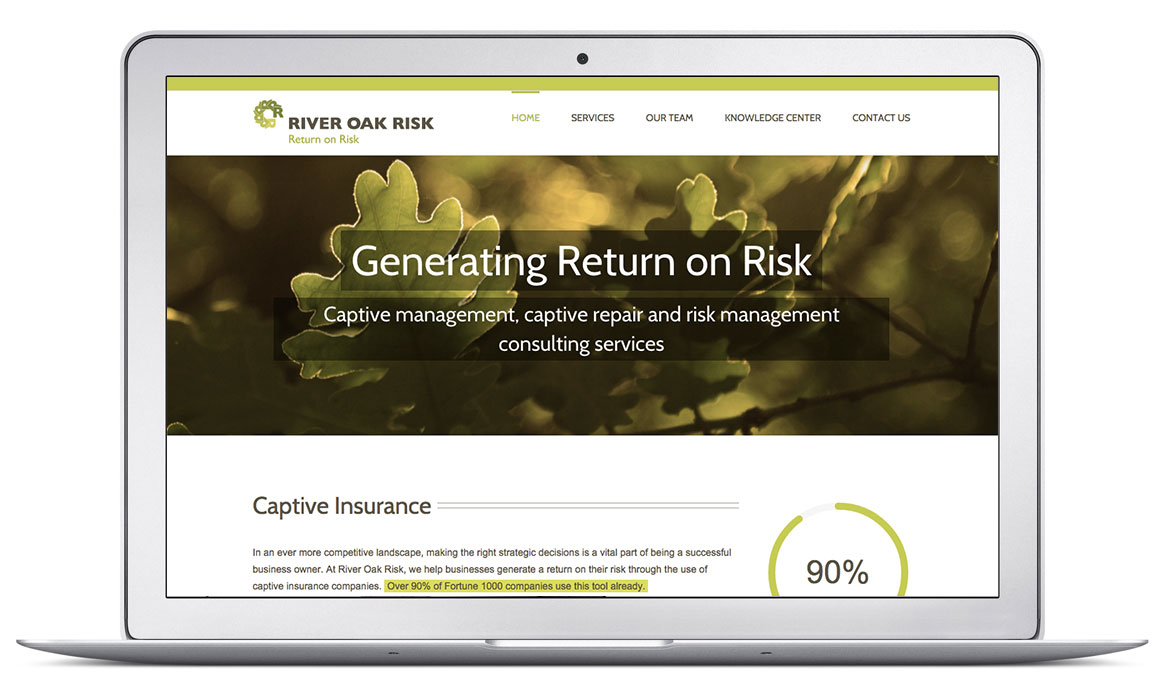 River Oak Risk Website